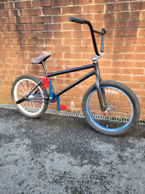 Division BMX with new parts