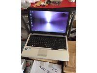 Samsung S3510 laptop 15.6 inch screen 500gb hd 3gb ram with webcam