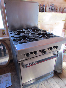 Commercial Propane Stove