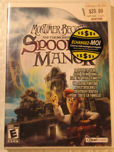 Wii  Mortimer Beckett and the Secrets of Spooky Manor