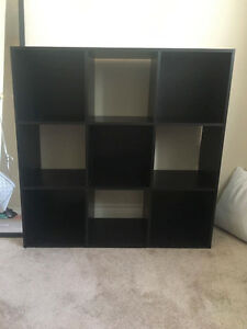 Like new 9 cube shelf