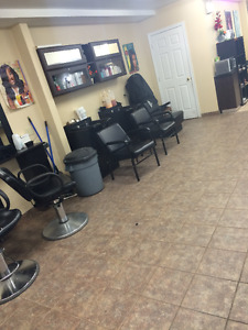 Salon Equipments for SALE!! (Chairs, Station, wax bed etc ....)