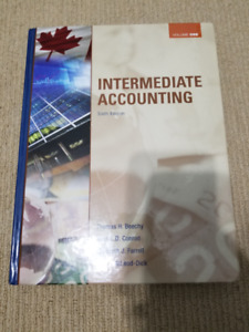 Intermediate Accounting Volume 1:  Sixth Edition Beechy