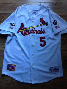 Albert Pujols MLB Baseball Jersey w/ special edition patches