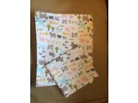 John Lewis Farmyard Duvet Set - Cotbed collection - as new
