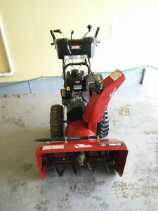 "Like new Craftsman 1450 27"" Snowblower"