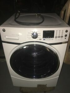GE FRONT LOAD WASHER Stainless DRUM for repair or parts