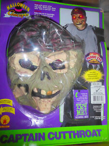 NEW in box Captain Cutthroat Mask with clothing