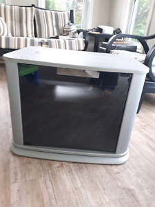 TV stand with swivel base