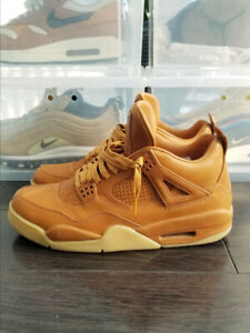 77b9bcbf7092 Nike Air Jordan 4 Retro Premium Ginger Wheat  . Sz 9.5