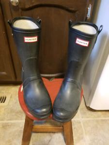 Hunter short rubber boots