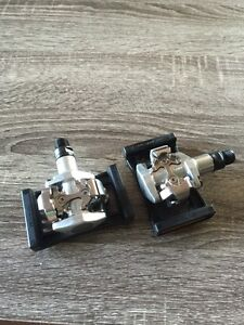 New Shimano clipless pedals