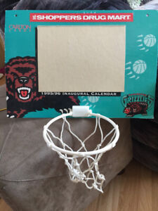 Vancouver Grizzly Basketball Hoop.