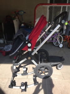 2 strollers for Sale - $200 each. 1 is a bugaboo frog + extras