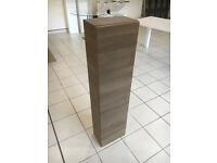 Roper Rhodes walnut finished wall mounted bathroom accessories storage cupboard