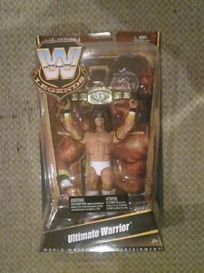 WWE Ultimate Warrior Legends Figure (white)