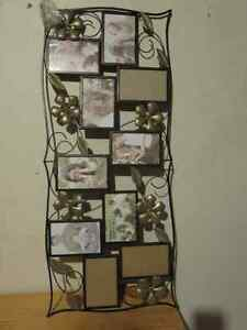 Beautiful Metal Picture Frame for 10 photos West Island Greater Montréal image 2
