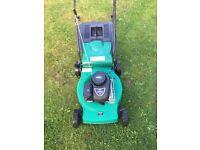 46cm qualcast self propelled lawnmower