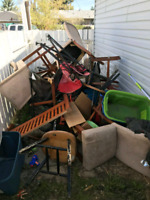 Same day junk removal/ flat rates/ tree removal/ wood removal