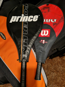 $30 2 Brand New Tennis Rackets woth Carrying Case