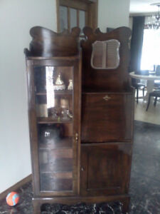 ANTIQUE CABINET DESK