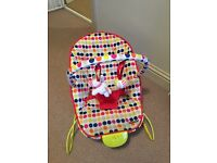 Baby bouncer / seat. Excellent condition