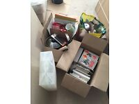Bundle of household goods and accessories - ideal for student/car boot