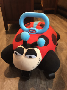 Lady Bug ride-on toy