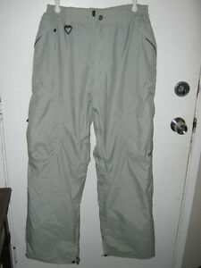 Men's Size L Ripzone Insulated Snow Pants - EUC