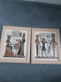 2 x Egyptian paintings