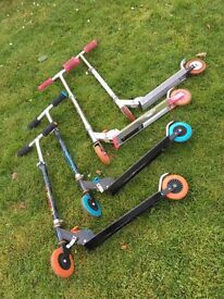 Foldable Micro Scooters - £1 each