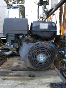 Power units with water pumps