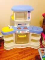 Little Tikes Kitchen With High Chair