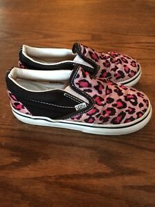 Vans shoes - Girls Size 10 - like new