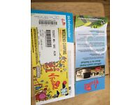 V festival weekend ticket with camping
