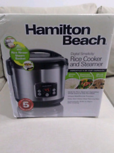 Hamilton Beach rice cooker -- brand new