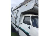 CF 1983 BEDFORD MOTORHOME PROJECT. RUNS DRIVES SWAP FOR BIG BIKE TOURER PROJECT