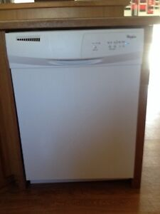 One year old whirlpool dishwasher