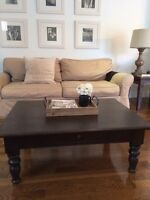 Pottery barn style table