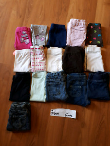 3-6 month girls pants p/u martensville