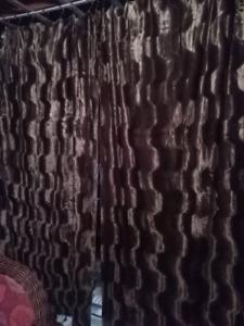 2x rideau Crushed velvet curtain panels