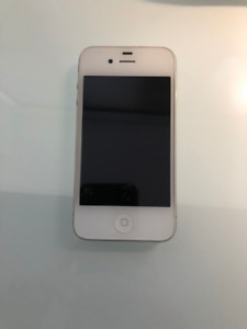 iPhone 4, White, 16GB