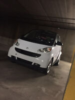 2009 Smart Fortwo White and Black Very Good Condition