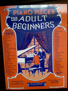 Piano Pieces for Adult Beginners – NEW