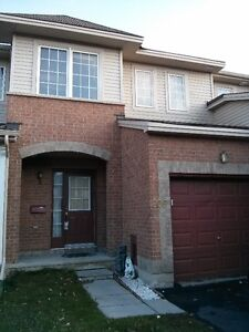 Town home for Rent Barrhaven (OH 1 SEP at 5 to 6 pm)