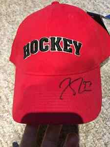 Connor McDavid Autographed Hat- mint with COA!