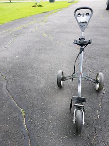Ezroll push golf cart
