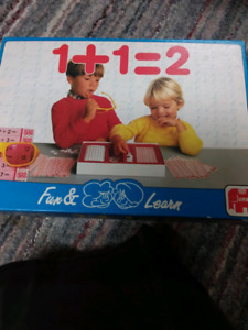 1+1=2 Math learning Game
