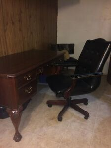 Ethan Allen Cherry Wood Desk Strathcona County Edmonton Area image 5