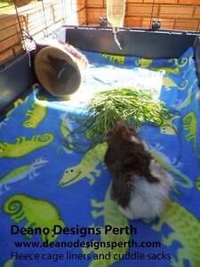 Fleece cage liners - for guinea pigs and rabbits Malaga Swan Area Preview